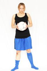 Fußballerin möchte spielen