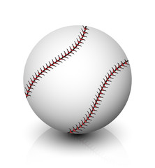 Vector baseball icon
