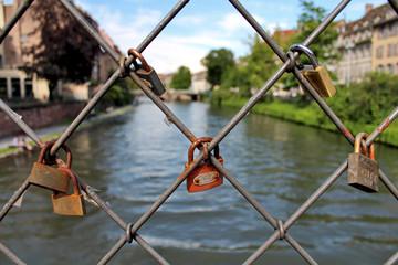 Cadenas d'Amour à Strasbourg