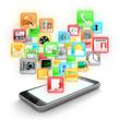 Dettagli della fotografia Smartphone apps