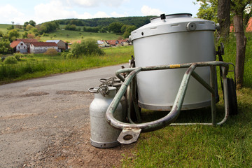 Milchcontainer