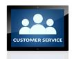 Tablet customer service