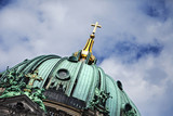 Berliner Dom Dome & Cloudy Sky