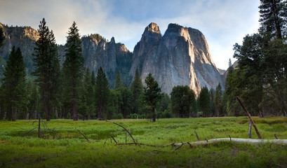 Yosemite Valley late afternoon