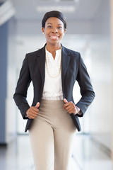 African-american professional woman