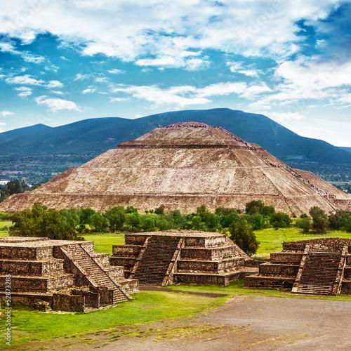 Obraz na płótnie Piramidy w Meksyku