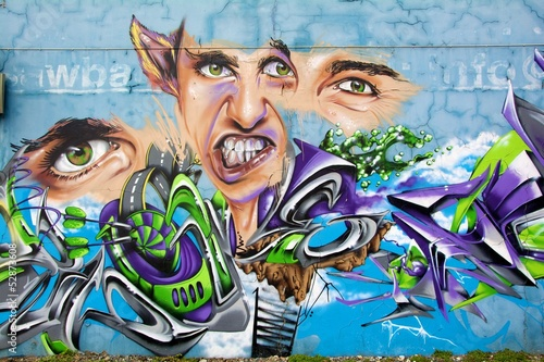Fototapeten,graphite,graffiti,malerei,auge