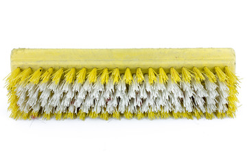 Yellow dirty scrubber