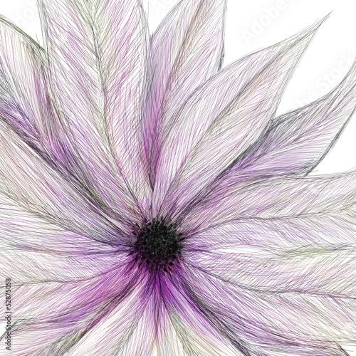 pomalowany-kwiat-rozowy