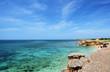 Sardegna, mare di Funtana Meiga, vicino a Cabras