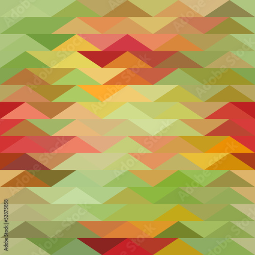 Deurstickers ZigZag Triangle background