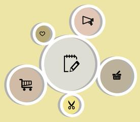 set di simboli per il web