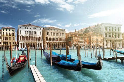 gondolas in Venice, Italy © Iakov Kalinin