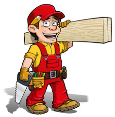 Handyman - Carpenter Red