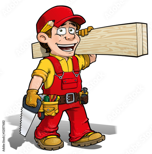 Handyman - Carpenter Red