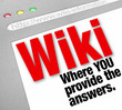 Wiki Website You Provide the Answers Public Edited Information