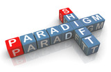 3d buzzword 'paradigm shift'