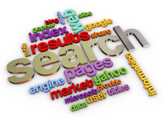 3d Search engine
