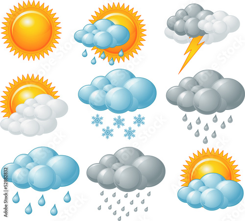Weather icons - 52882832