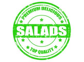 Salads stamp