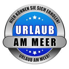 5 Star Button blau URLAUB AM MEER HKSSE UAM
