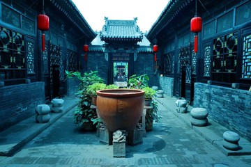 Chinese courtyard house