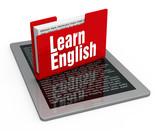 Fototapety Learn english