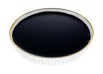 Balsamic Vinegar In Dish