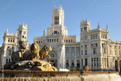 Plaza de Cibeles, Madrid - 52886856