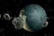 Fototapeten,asteroid,astronomie,komet,kosmos