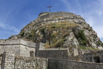 Die neue Festung in Korfu Stadt, Griechenland