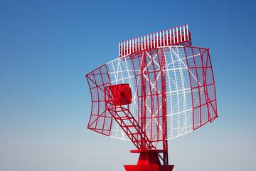 Airport radar.
