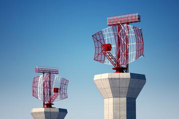 Airport radars.
