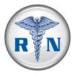 Registered Nurse Button