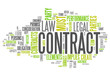 "Word Cloud ""Contract"""