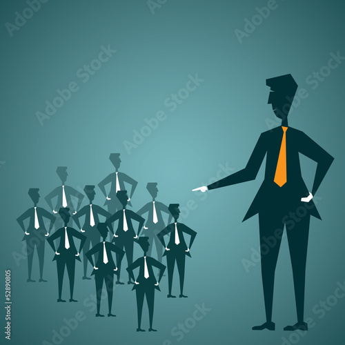 leadership concept stock vector