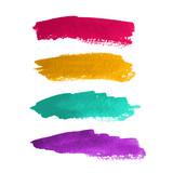 Watercolor stripes for design