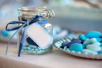 light blue candy birth