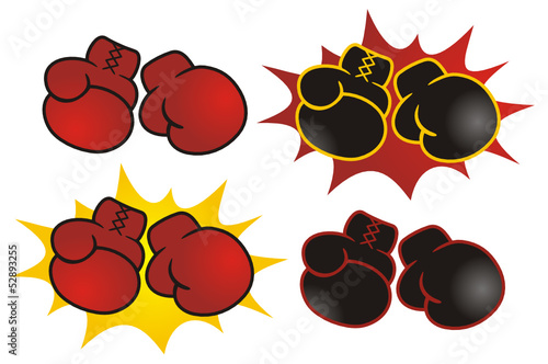 Boxing Gloves Symbol