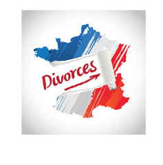 les divorces en France