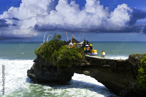 Near Tanah Lot.