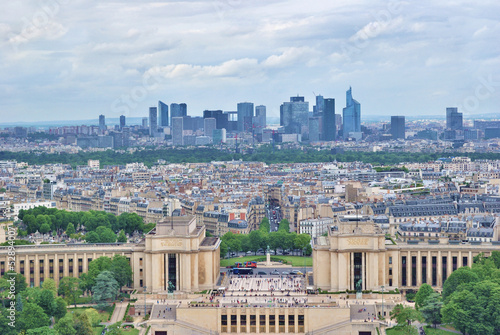 Paris top-view