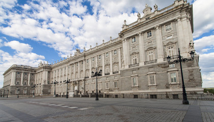 Royal palace at Madrid, Spain