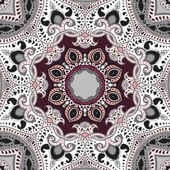 Mandala.  Vector ethnic background.