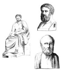 Ancient Greece - Sculptures : Men