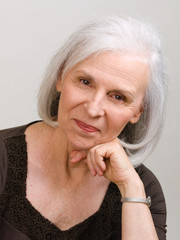 Attractive Portrait of Senior Woman