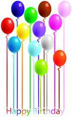 Palloncini compleanno biglietto