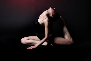 The sensual dancer