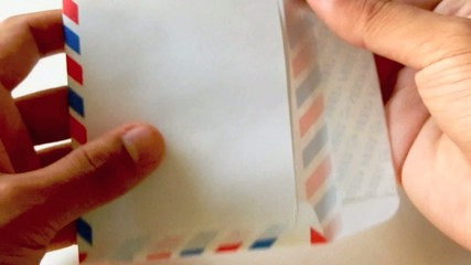 Receiving a Letter - Mail or email