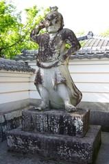 大慈禅寺の吽形像